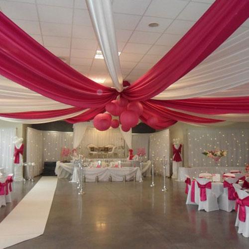 Deco Salle Mariage Voilage : Decoration mariage voilage plafond