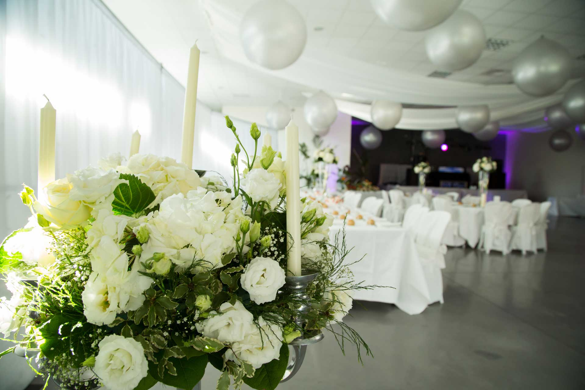 D coration de votre salle de mariage grenoble - Modele decoration mariage ...