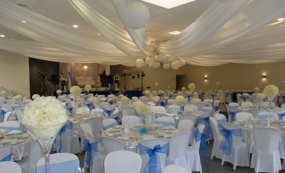 Nos d corations de salles de mariage en images for Arnal decoration