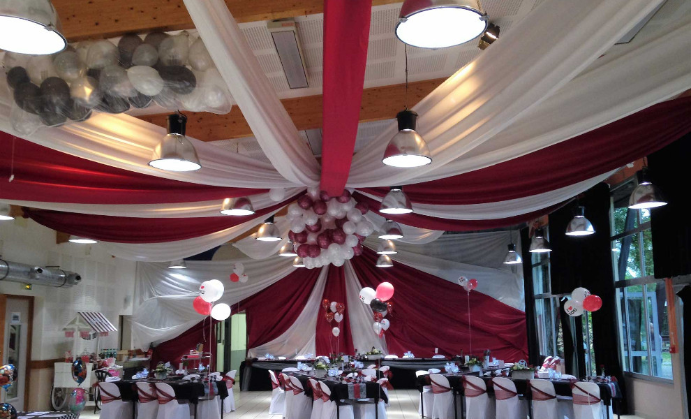 D corateur salle de mariage en is re for Arnal decoration