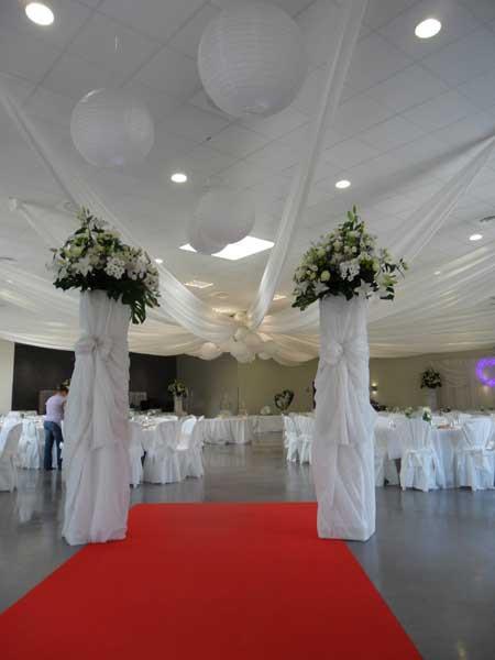 D corateur salle de mariage en is re for Arnal decoration